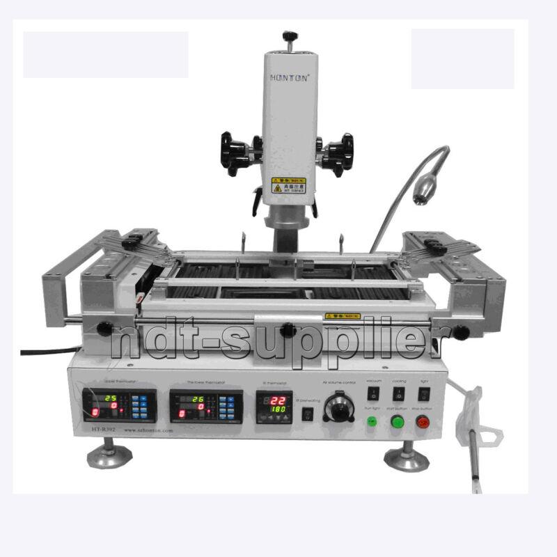 HT-R392 110V/220V Hot Air & Infrared Preheating BGA Rework Station