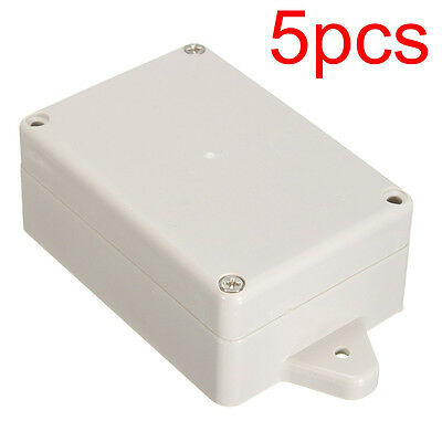 5pcs Plastic Waterproof Electronic Project Enclosure Cover Box Case 83x58x35mm