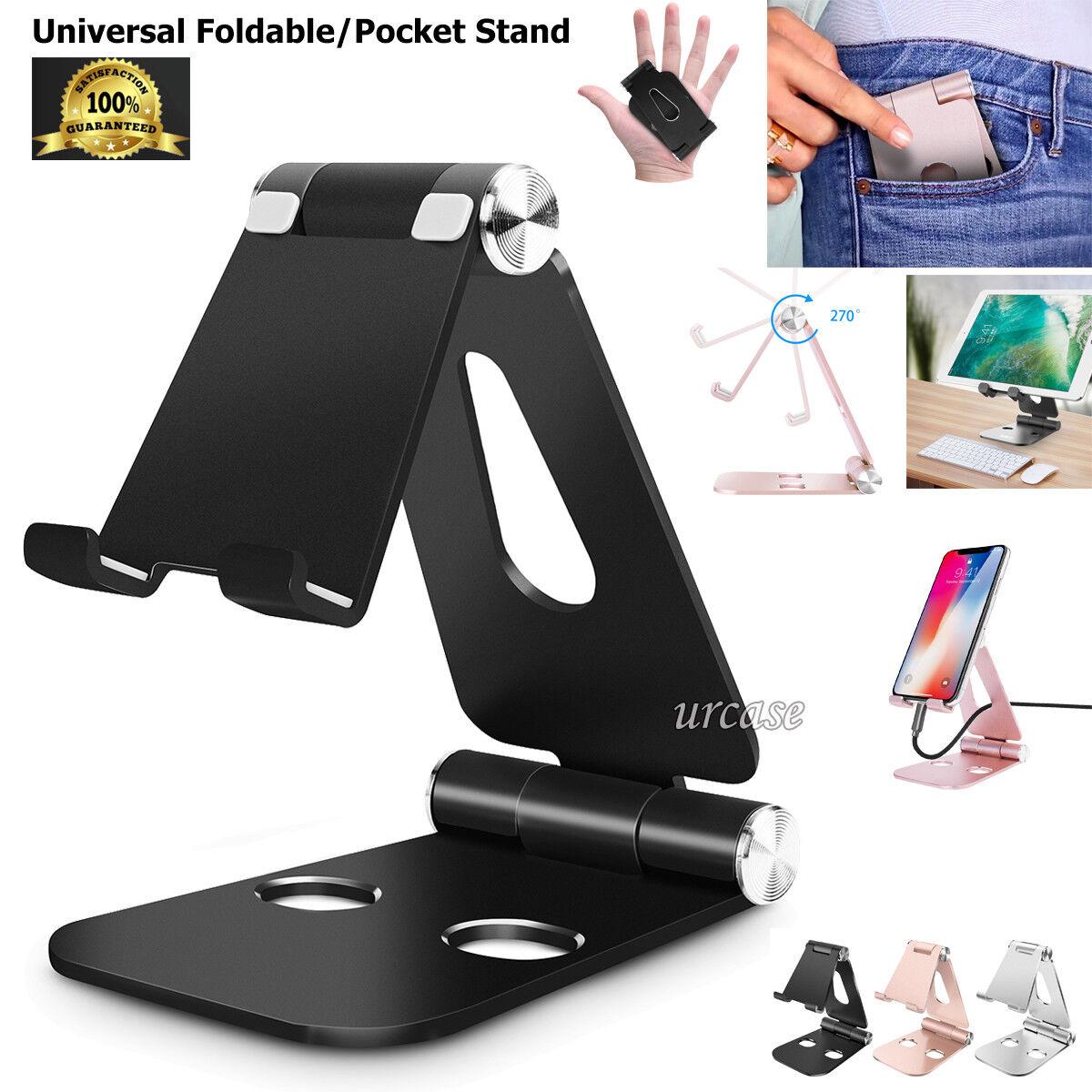 Universal Foldable Aluminum Desk Stand Adjustable Holder Fr
