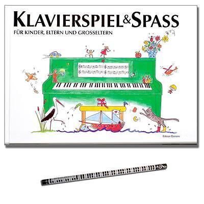 Klavierspiel & Spaβ - Klavierschule mit Pianobleistift - 9788799566716