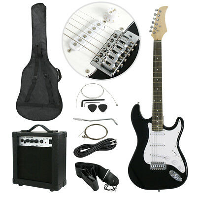 "39"" Electric Guitar Full Size Electric Guitar w/10W Amp Beginner Starter Package"