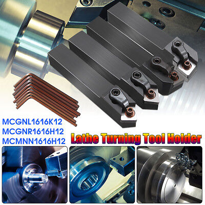 4 Set Of Cnc Lathe Index Turning Tool Holder Boring Bar With 8pcs Wrenches
