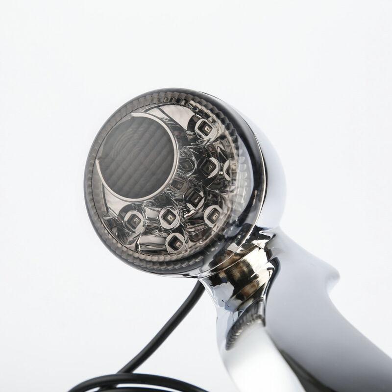 rear smoked lens turn signal brake light bar for harley. Black Bedroom Furniture Sets. Home Design Ideas