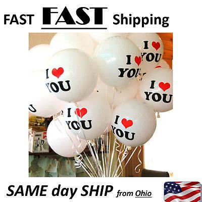 Sweetest day balloons gift enhancer --- 20 pack --- helium or regular air blow