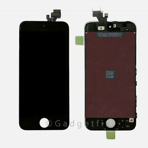 Iphone 5 Compatible Front Housing LCD Touch Digitizer Glass Screen Assembly USA
