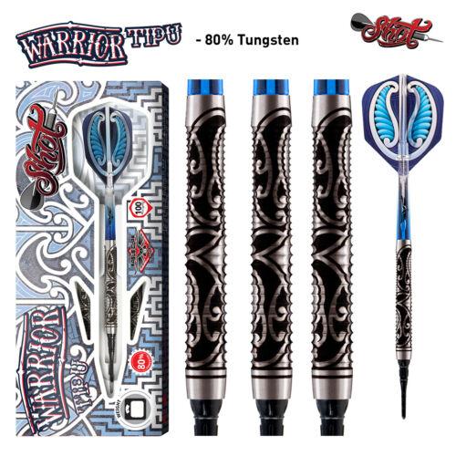 Shot Warrior Tipu 20 gram 80% Tungsten Soft Tip Darts