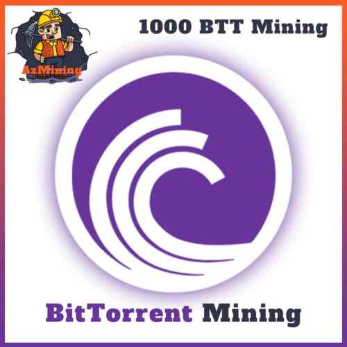 1000 BitTorrent (BTT) CRYPTO MINING-CONTRACT - 1000 BTT - Crypto Currency