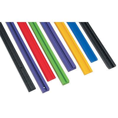 Blue Slides Pair Polaris Long Track 440 1984 1985 1986 1987 1988 1989 1990 1991