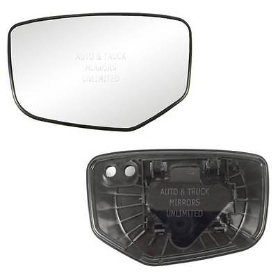 NEW Mirror Glass WITH BACKING HONDA ACCORD Driver Left Side Honda Accord Driver Side Mirror