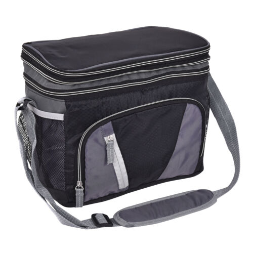12-can-double-layer-cooler-bag-ice-pack-lunch-container-zipper-shoulder-straps-1.JPG