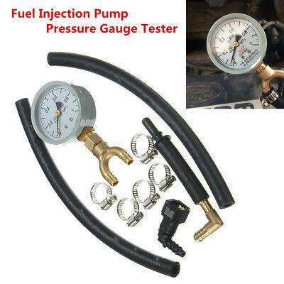 Car Fuel Pressure Meter Tester Gasoline Oil Injection Pump Pressure Gauge Tester