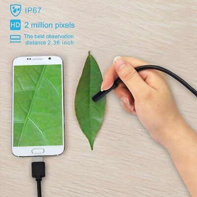 Usb Endoscope Borescope 6 Led Waterproof Bend Camera For Mac Ios Android Windows