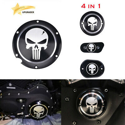 Skull Accessories Engine Derby Timer Cover For Harley Sportster Iron XL 883 1200 Harley Davidson Skull Accessories