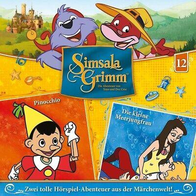SIMSALAGRIMM - 12: PINOCCHIO/DIE KLEINE MEERJUNGFRAU  CD NEW