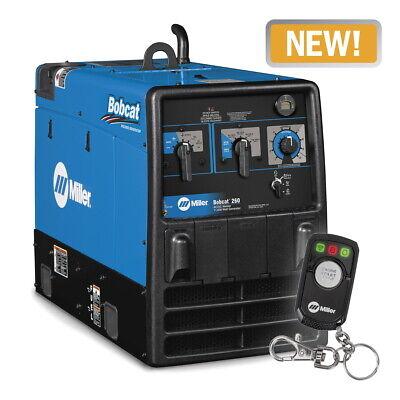 Miller Bobcat 260 Weldergenerator With Efi And Remote Startstop 907793