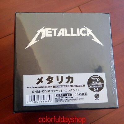 Metallica: The Album Collection 13 Discs Mini-LP CD  Japan Box Set Sealed HOT