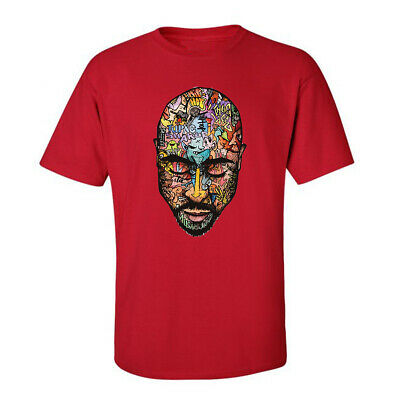 - Tupac Art, Music Rap City Mens Tees Graphic Funny Generic Novelty Unisex T-Shirt