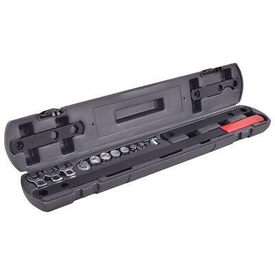 16pcs Ratcheting Wrench Serpentine Belt Tools Set Automotive Repair Kit Socket