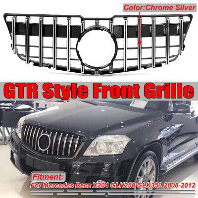 GT R Kühlergrill Frontgrill Grill für Mercedes Benz X204 GLK250 GLK350 2008-2012