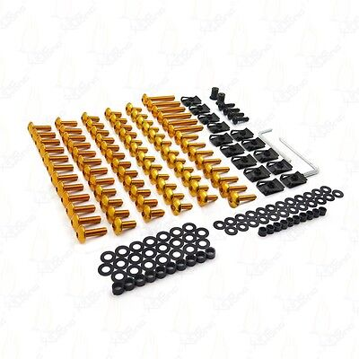 Complete Fairing Bolts Screws For SUZUKI GSXR 600 750 1000 Gold