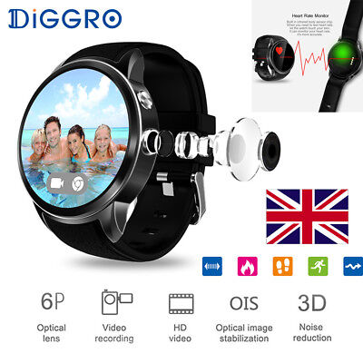 3G Smart Watch Android 5.1 16GB Bluetooth WIFI GPS Sports SIM Phone For Samsung