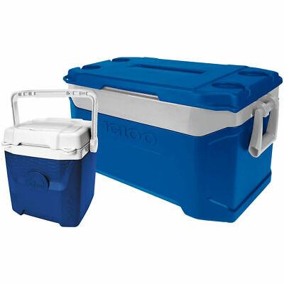 Igloo Latitude 50 Quart 47 Litre Cool Box Ice Cooler Chest + Igloo 12, 47 & 11