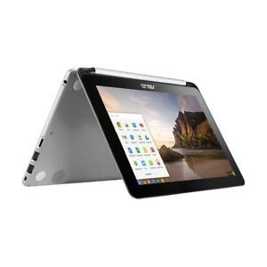 ASUS Chromebook Flip Touchscreen Laptop C100P Quad Core 2GB 1.8 GHz, 16 GB