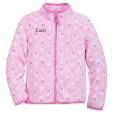 Kid Store Names (NWT Disney Store Minnie Mouse Fleece Jacket Girl Size 7/8 no name on)