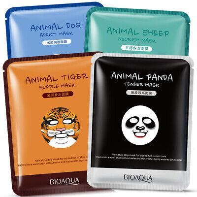 Animal korean Essence Face Mask Facial Sheet Deep Moisture Skin Care Mask