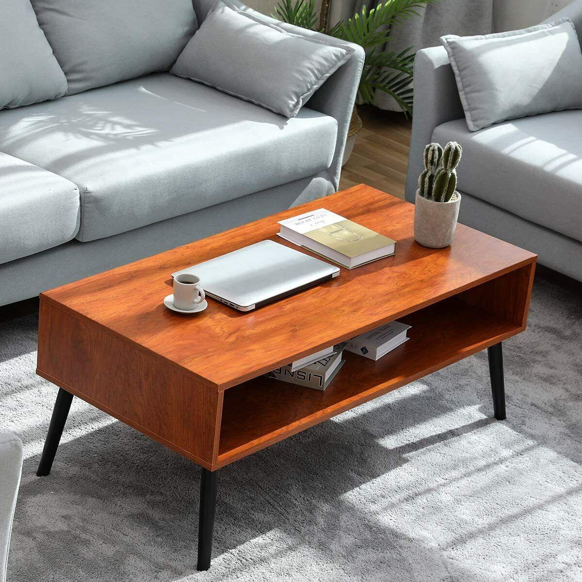 modern coffee table walnut end sofa side