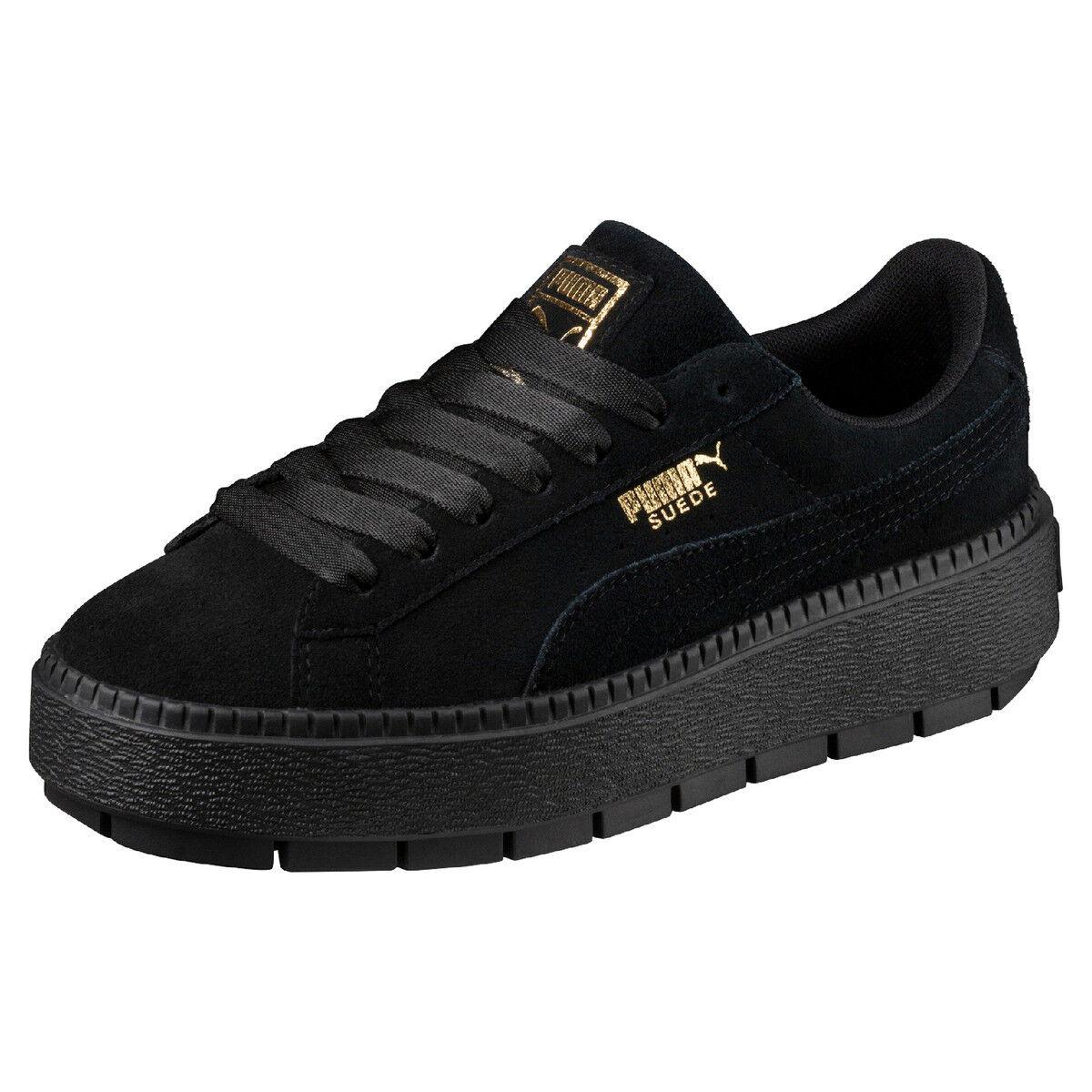 1117bd1b0e39aa PUMA Platform Trace Sneaker Women s Black F01 40
