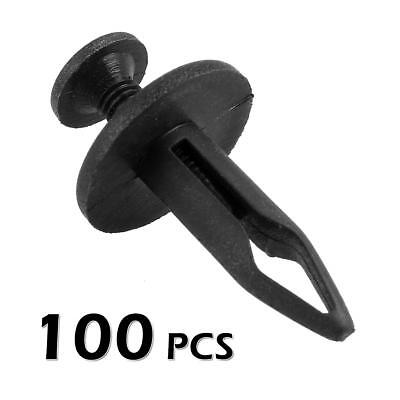 100 Pcs Radiator Body Moulding Shroud Retainer Push Type Clip for GM Buick GMC