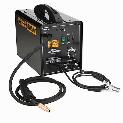 New 240 Volt 170 Amp Mig Flux Wire Welder With Accessories Included