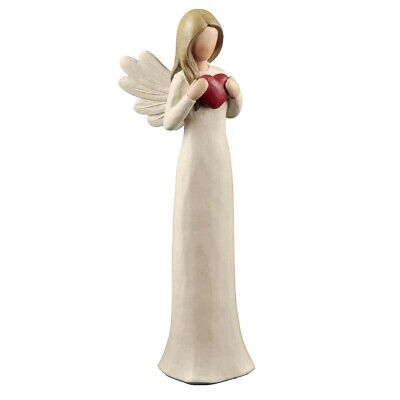 4 Styles Inspirational Angel Figurines Statues for Holiday Gifts Home Decoration ()