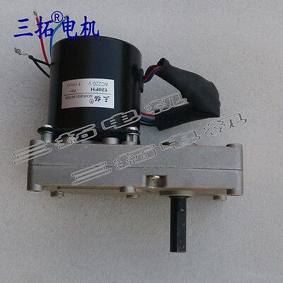1pcs Ac220v 120fh Permanent Magnet Synchronous Gear Motor Reducer Stepper Motor