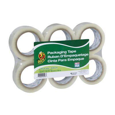 Duck Brand Standard Packaging Tape Refill 6 Rolls 1.88 Inch X 109 Yards Clear