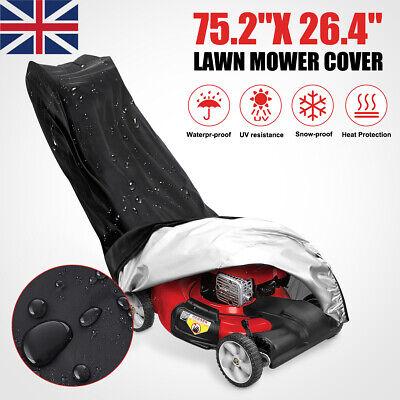 Waterproof Lawn Mower Cover Universal Gardening Dustproof Anti-UV Rain Cover UK