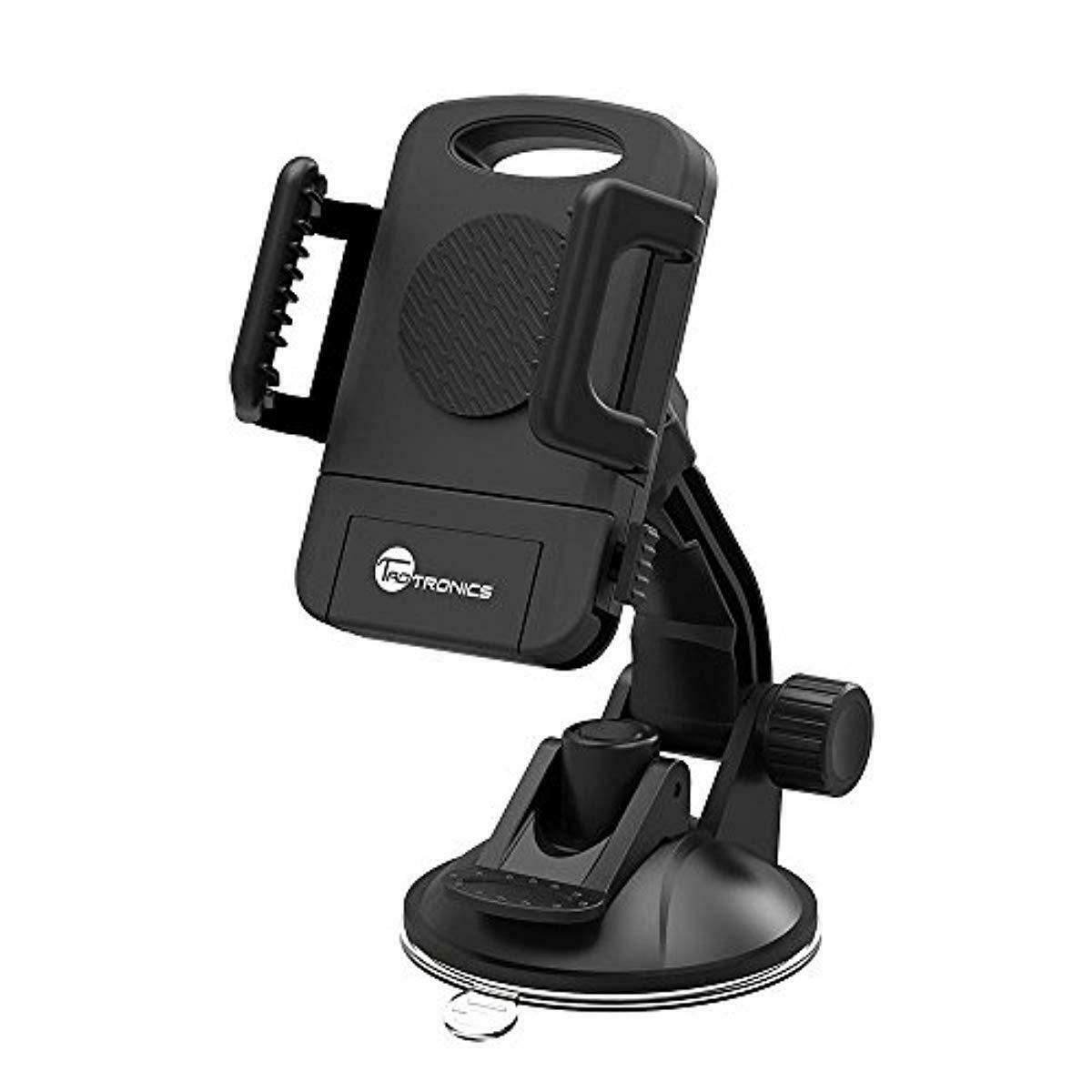 TaoTronics Car Phone Mount Holder, Windshield / Dashboard Un