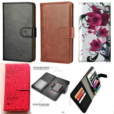 Slim Premium Clip-on Mobile Phone Case For Sharp Aquos B10 - PU Leather L Sharp Aquos Slim