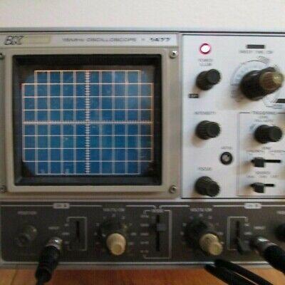 Bk Precision 15mhz Oscilloscope 1477 Vintage 2 Ch Lab Quality Performance O.b.o