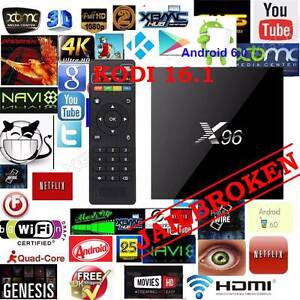 Android 6.0 tv box latest X96 S905X 4K Kodi 16.1 1gb/8gb OTT wifi Noble Park Greater Dandenong Preview