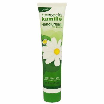 Herbacin Wuta Kamille Glycerine Hand Cream Protect Care 75ml Australian Seller a