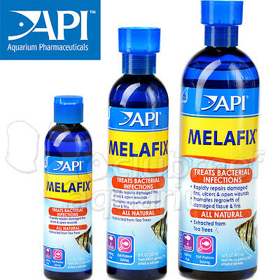 Melafix Antibacterial Infection Aquarium Fish Medication Fresh Salt 4 8 16 32