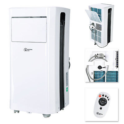 MODERN LIFE Mobile Klimaanlage Shiny 9000 BTU Klima 2,6 kW Mobiles Klimager?t