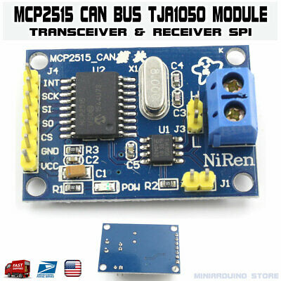 Mcp2515 Module Can Bus Tja1050 Receiver Transceiver Spi Arduino Interface Usa