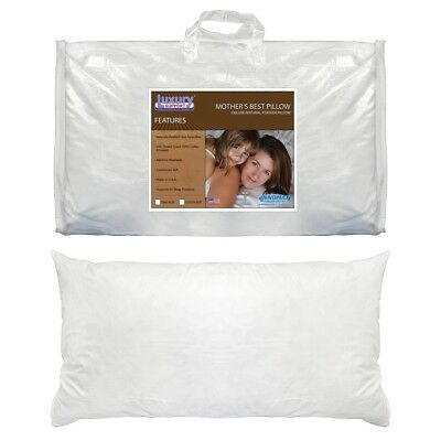 Innomax 5-28-SF-K 20x36 in. Mothers Best Deluxe Natural Feather Pillow King Size Deluxe Natural Feather Pillows