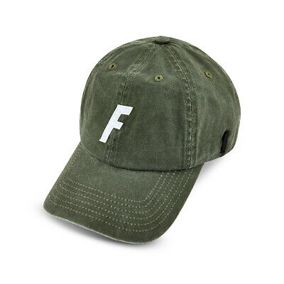 Fortis Olive 6 Panel Cap with Sunglasses Strap NEW Carp Fishing - 6P01