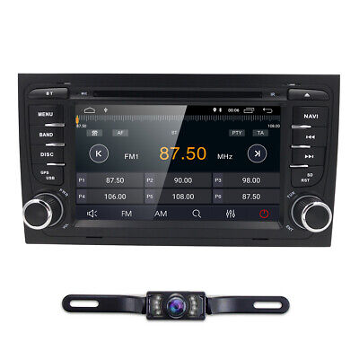 """7"""" 2Din Android 9.0 Quad-Core Car DVD Stereo GPS Radio for Audi A4 S4 Seat Exeo"""