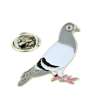 Racing Pigeon Metal Enamel Lapel Pin Badge XJKB15-44