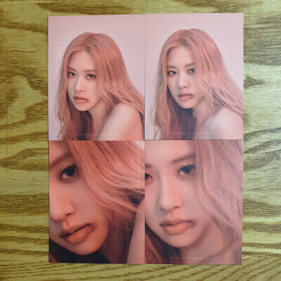 Rose Official Photocard Set BlackPink 2nd Mini Album Kill This Love Kpop